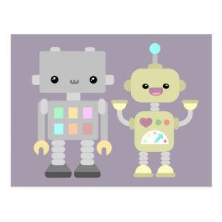 Cartão Postal Robôs no jogo
