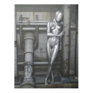 Cartão Postal Robotwoman