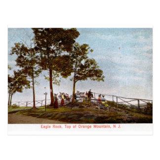 Cartão Postal Rocha de Eagle, parte superior da montanha