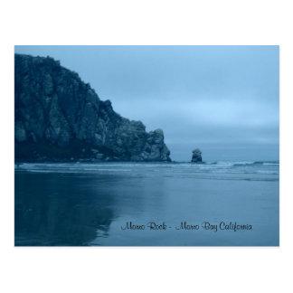 Cartão Postal Rocha de Morro - baía Califórnia de Morro