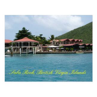 Cartão Postal Rocha de Saba
