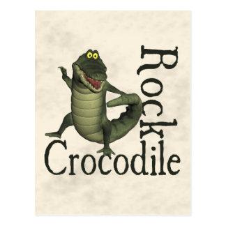 Cartão Postal Rocha do crocodilo