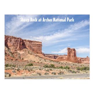 Cartão Postal Rocha dos carneiros no parque nacional dos arcos