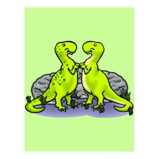 Cartão Postal Rocha dos dinossauros!