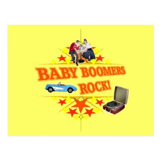 Cartão Postal Rocha dos nascidos no Baby Boom