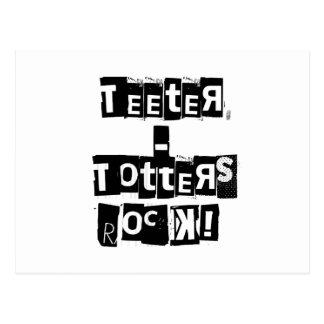 Cartão Postal Rocha dos Teeter-Totters