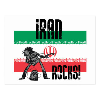 Cartão Postal Rochas de Irã