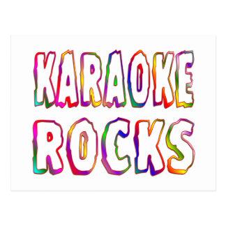 Cartão Postal Rochas do karaoke