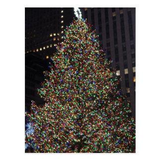 Cartão Postal Rockefeller árvore dezembro de 2013