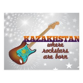 Cartão Postal Rockstars é nascido em Kazakhstan