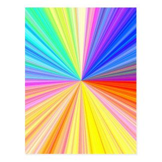 Cartão Postal Roda de cor ART101