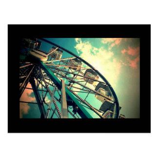 Cartão Postal Roda de Ferris