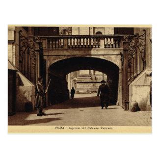 Cartão Postal Roma, entrada do vaticano