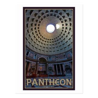 Cartão Postal Roma - o panteão