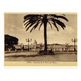 Cartão Postal Roma, panorama com St Peter
