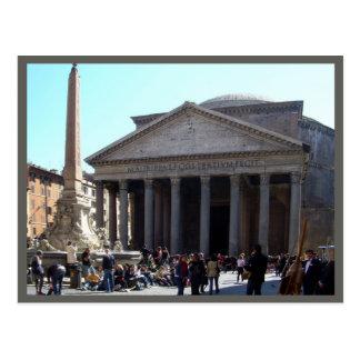 Cartão Postal Roma (panteão)