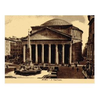 Cartão Postal Roma, panteão
