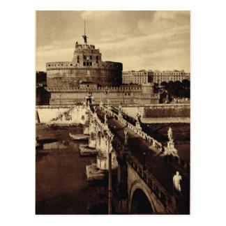 Cartão Postal Roma, papai noel Angelo de Castello