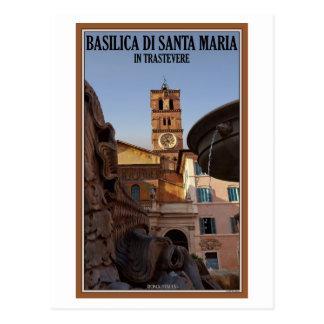 Cartão Postal Roma - Santa Maria em Trastevere
