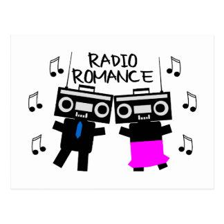 Cartão Postal Romance de rádio