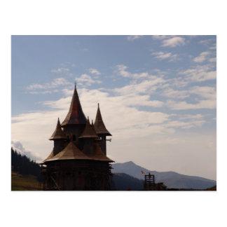 Cartão Postal Romania, Moldova, igreja ortodoxa