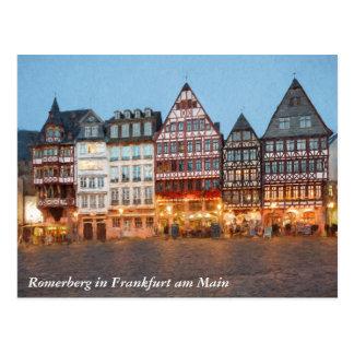 Cartão Postal Romerberg