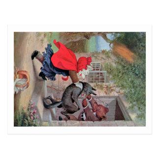 Cartão Postal Roosevelt carrega o jogo pouca capa de equitação