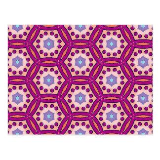 Cartão Postal Rosa
