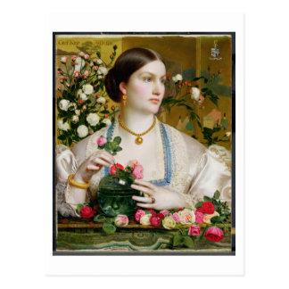 Cartão Postal Rosa da benevolência, 1866 (óleo no painel)