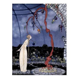 Cartão Postal Rosáalia e a árvore de ameixa mágica