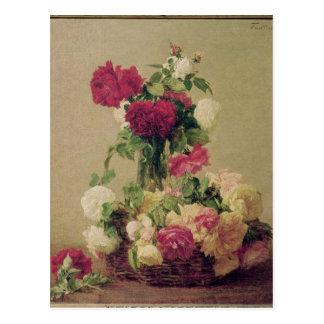 Cartão Postal Rosas, 1891