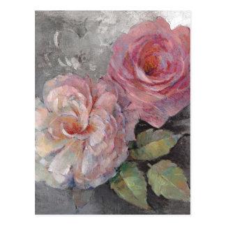 Cartão Postal Rosas em cinzas