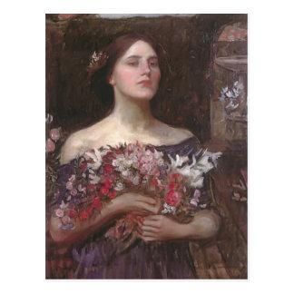Cartão Postal Rosebuds ou Ophelia do YE do recolhimento do