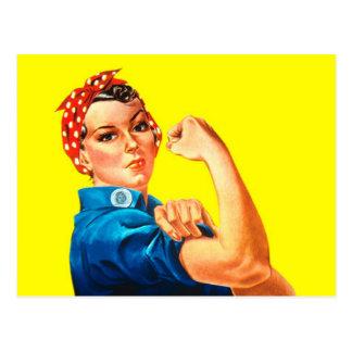 Cartão Postal Rosie o rebitador - nós podemos fazê-lo, ícone