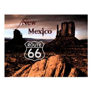 Cartão Postal Rota 66 New mexico