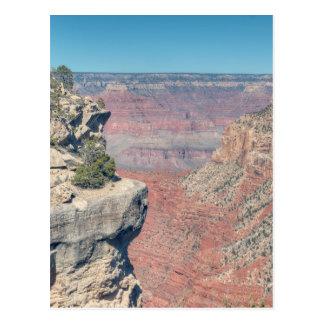 Cartão Postal Rota do resto do eremita do Grand Canyon