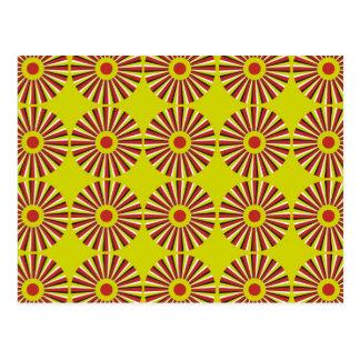 Cartão Postal Rotação da ilusão óptica