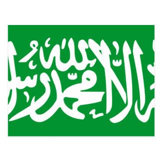 Cartão Postal Roteiro de Thuluth da Arábia Saudita, Arábia