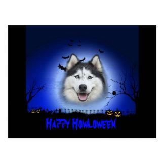 Cartão Postal Rouco feliz de Howloween