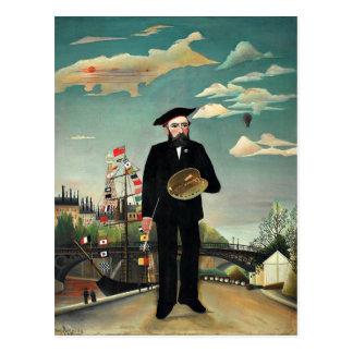Cartão Postal Rousseau - Auto-Retrato, 1890