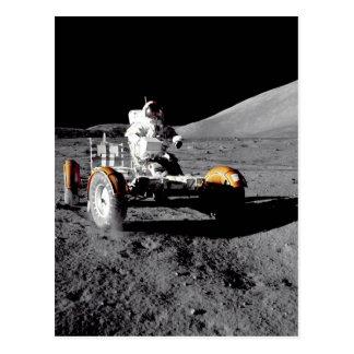 Cartão Postal Rover lunar, Apollo 17