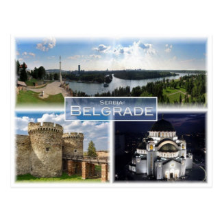 Cartão Postal RS Serbia - Belgrado -