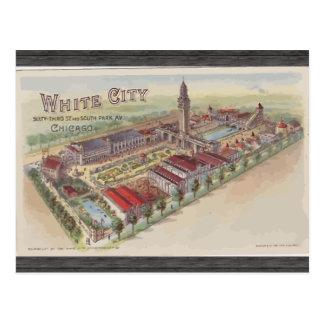 Cartão Postal Rua branca da cidade 63rd e South Park avoirdupois