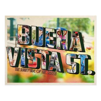 Cartão Postal rua de Buena Vista