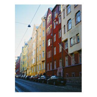 Cartão Postal Rua de Helsínquia