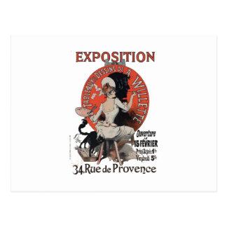 Cartão Postal Rua de Provence da exposição