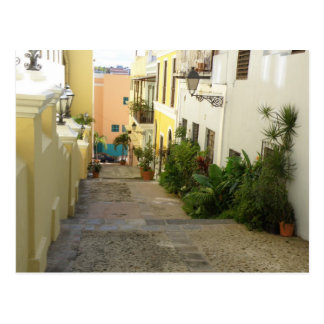 Cartão Postal Rua de San Juan