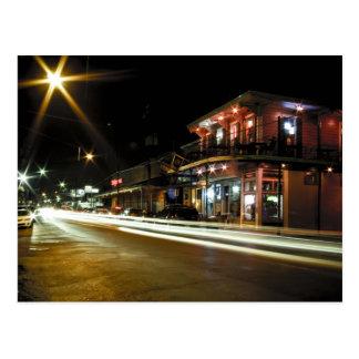 Cartão Postal Rua do compartimento na noite