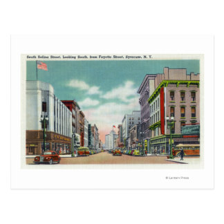 Cartão Postal Rua do Salina de S da rua de Fayette