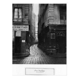 Cartão Postal Rua Tirechape, de St. Honore da rua, Paris